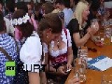 Germany: See Sexy Bavarian Girls In Dirndls Rock Oktoberfest