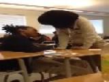 Girls Classroom Fight