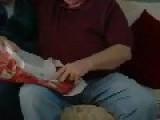 Grandma And Grandpa Get An IPad For Christmas