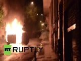 Greece: Athens High Schoolers Torch Cars, Clash With Police