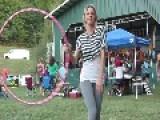 Good Music, Perfect Weather And Hula Hoop Girl With Skills