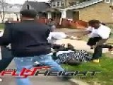 Guy Gets Knocked Out And Brutal Stomped