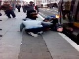 Girl Gets Legs Trapped By Lias Tram In Dublin City