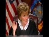 Guy Gets Cute With Judge Judy - Twice