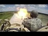 GoPro Action Tank Cam Footage Of M1 Abrams Tanks In Action During US Military Tank Crew Competition