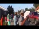 Girls Get Run Over By Speeding Car On Street Fight!!!