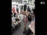 Girl Publicly Undresses & Changes Clothes On Shanghai Metro