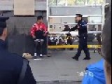 Guy Threatened And Expelled By Police From Public For Cross Dressing