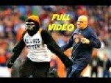 Guy In Full Gorilla Suit Wearing All Lives Matter Shirt Runs Onto Field Lions Vs Bears 2016