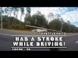 Guy Has A Stroke While Driving, Crashes And Takes Out A Street Light!