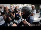 Greek Finance Minister Flees Press Stakeout
