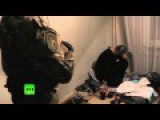 Gang Forging Passports For ISIS Busted Near Moscow, 14 Detained FSB Special Op Footage