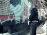 Group Of Graffiti Vandals Get Caught In The Act - Security Lets Them Finish