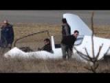 Glider Lands Hard