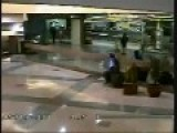 Guy Takes A Crap In A Plant At A Public Mall