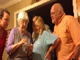 Granny's Hilarious Reaction To Pregnancy Surprise
