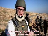 German FDP Politican Embedeed With Peshmerga Fighters In Sinjar Doing A Reputable Interview With ISIS English Subtitles