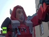 Germany: Watch The 'Putinator' Steal The Show At 2015 Cologne Carnival