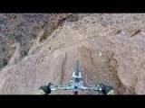Go Pro Bike Rider Flip Over Canyon