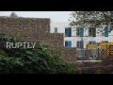 Germany: Wall Built Around Empty Migrant Centre Due To Pre-emptive Noise Complaints