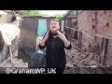 God Damn You Poroshenko! - Grandmother In Tears After Her Grandchild Was Killed, May 27th Horlivka