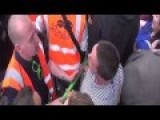 Gets Heckled During Anti Austerity Protest1