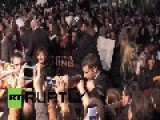 Germany: Berlin Catches Fire At Hunger Games Premiere