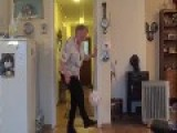 Great-Grandmother Loves To Practice Keepy-Uppys