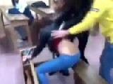 Girl Is Savagely Bullied Inside School Classroom
