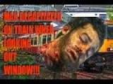 GATWICK EXPRESS TRAIN Cuts Off Mans Head!!