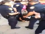 Guy Resist Arrest In New York Putting Him Self In Big Trouble