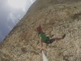 Guy Jumps Off Cliff