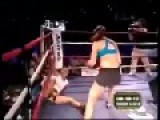 Girl Beats The Crap Out Of Male Boxer