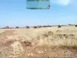 Grad Rocket Barrage In Syria