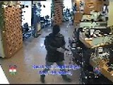 Grandma Fighting Bank Robber And Almost Gets Shot