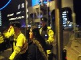 Gardai Attacking Black Bloc At The EPP PROTEST DUBLIN