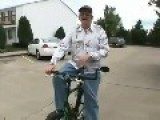 Gary The Retard Riding His Bike...YIPEEEE!!!!
