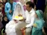 Groom Slaps Bride For Eating Cake?