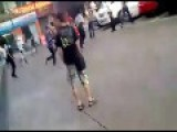 Group Fight Between Blacks And Chinese In Guangzhou