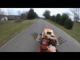 Guy Takes Big Block Chevy Lawnmower On A Road Test