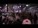 Greece: Police And Protesters Clash During Pro And Anti Migrant Protests