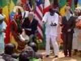 George W Bush Goes To Africa