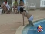 Girls Menstruating In Swimming Pool Pranked