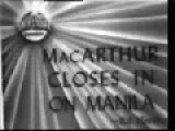 General Douglas MacArthur Closes In On Manila - Ormoc Bay Battle - Philippines- 1945