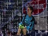 Goal Keeper Saves All 5 Penalty Kicks With His Face