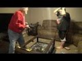 Gramps Destroys A PS4 Over Cookie Time!