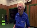 Germany: Meet The World's Oldest Table Tennis Champ, 93