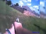 GRAPHIC CONTENT: Cop Shoots At Dogs After Calling Them Over