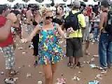 Girl At Trance Goa