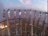 GoPro Girandola - Onboard View From Flying Horizontal Firework Wheel